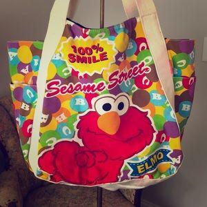 Elmo Tote Like New!
